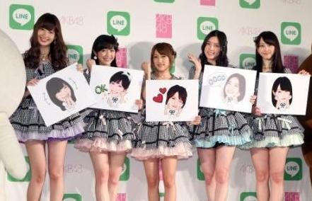 AKB48×LINE推出AKB48选拔总选举合作企划