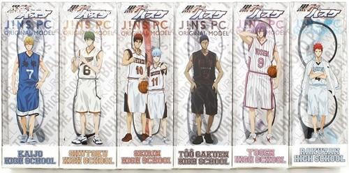 《黑子的篮球》与JINS合作推出眼镜